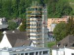 2018 Renovation Kirchturm ref. Kirche, Fotos Willi Wey